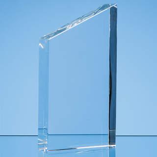 17.5cm Optical Crystal Diagonal Slope Award